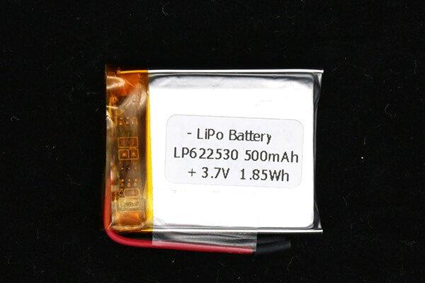 25mm-width-lipo-3.7-v-500mah-battery-lp622530